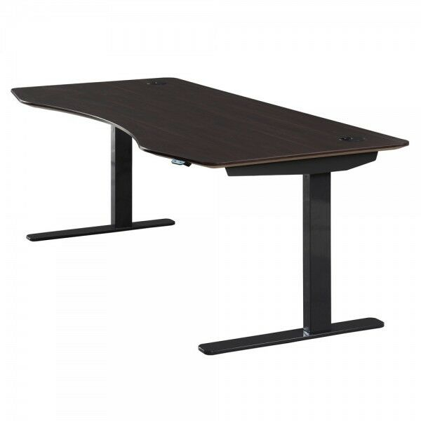 Series L Adjustable Height Single Desk Walnut 57 Apex Ax7133aw Motorized Sit-stand Height Adjustable Table