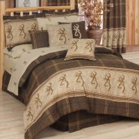 Browning Comforter Set & Sheets~Bed in Bag~Twin Full Queen ...