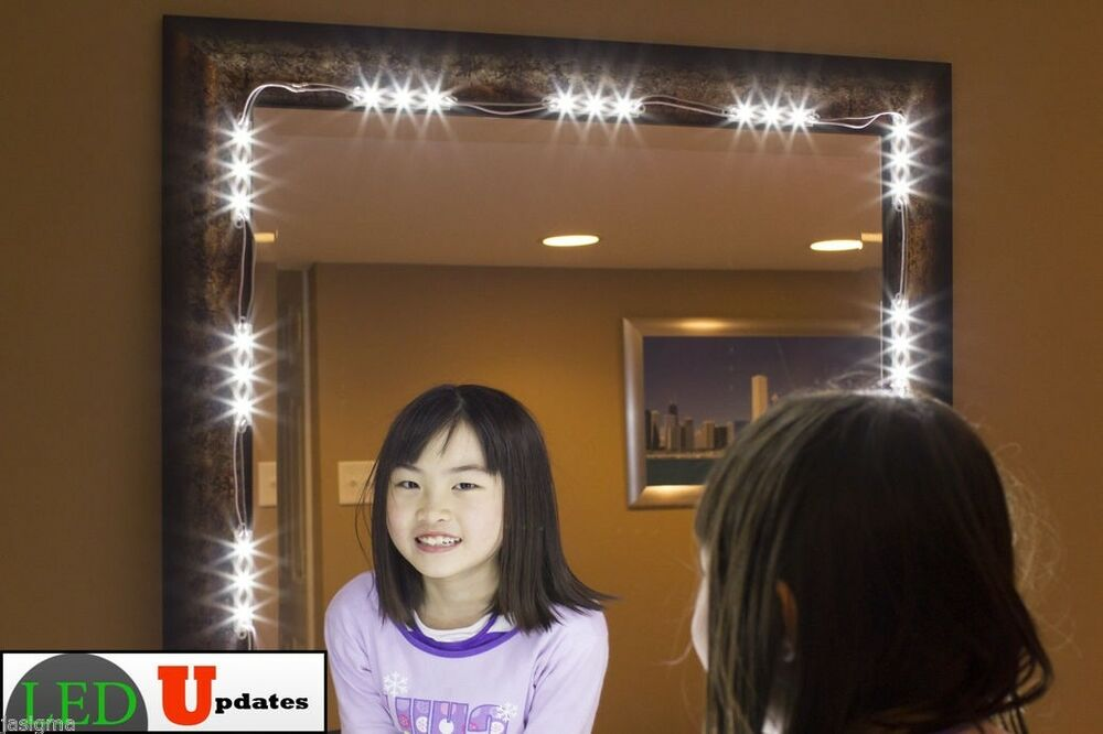 Touch Spiegel Diy Mirror Led Light For Cosmetic Makeup Vanity Mirror Lighted