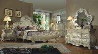 Formal Traditional Antique White 4P Bedroom Set Est. King ...