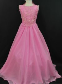 NEW GIRL NATIONAL PAGEANT WEDDING FORMAL PARTY DRESS PINK ...