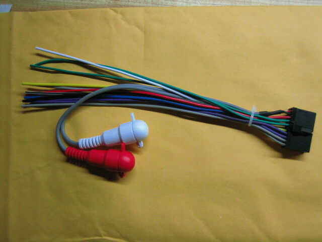 Audiovox Jensen Wire Harness CD2610, CD3610, CD3720, CD4610, CD4620