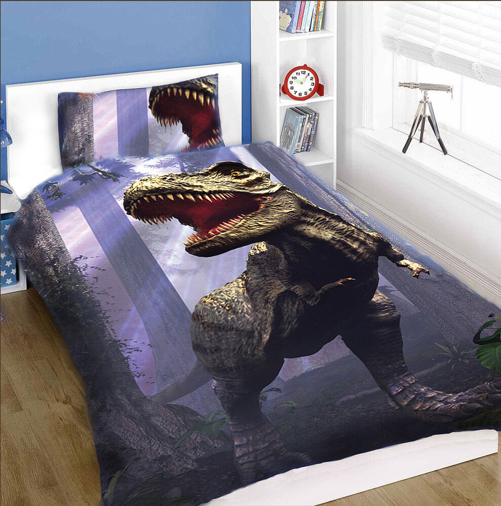 Chambre A Coucher Simple Land Of T Rex Duvet Cover Set For Single Bed Boys Bedroom Childs Bedroom 5060367853201 Ebay