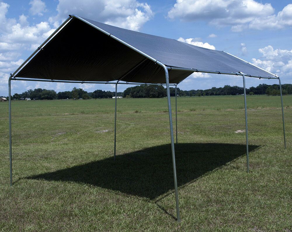 10' x 20' Heavy Duty Canopy Kit Set Car Boat Carport