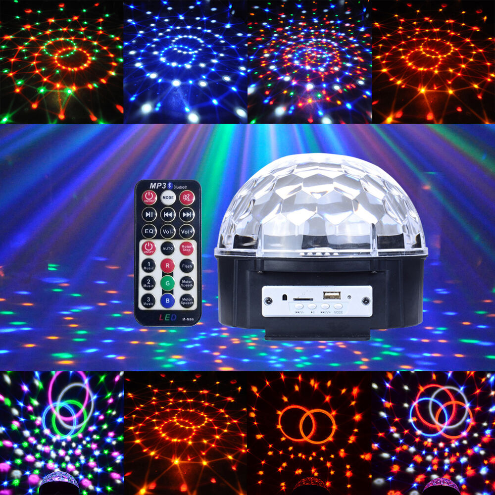 Led Stage Lighting Ebay 12w Portable Led Battery Rgbywv Stage Light Crystal Ball