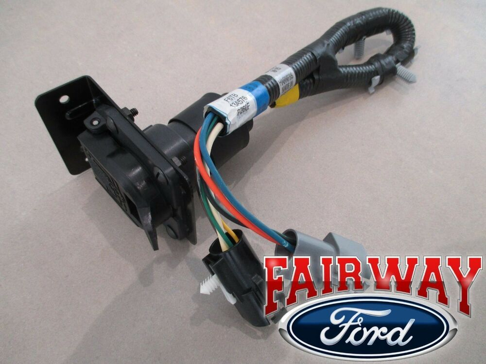 96 Bronco F-150 OEM Genuine Ford Parts Trailer Towing Wire Harness w