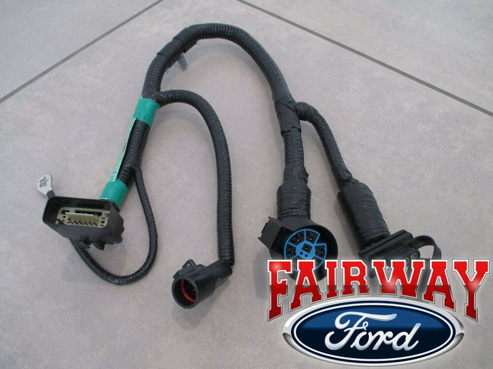 05 thru 07 F-150 OEM Genuine Ford 7-Pin Trailer Tow Wiring Harness