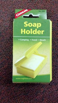 SOAP HOLDER, CAMPING, TRAVEL, BEACH, COGHLANS, PART# 658 ...
