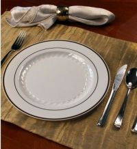FULL TABLE SETTINGS PLATES-CUPS-CUTLERY WEDDING SPECIAL ...