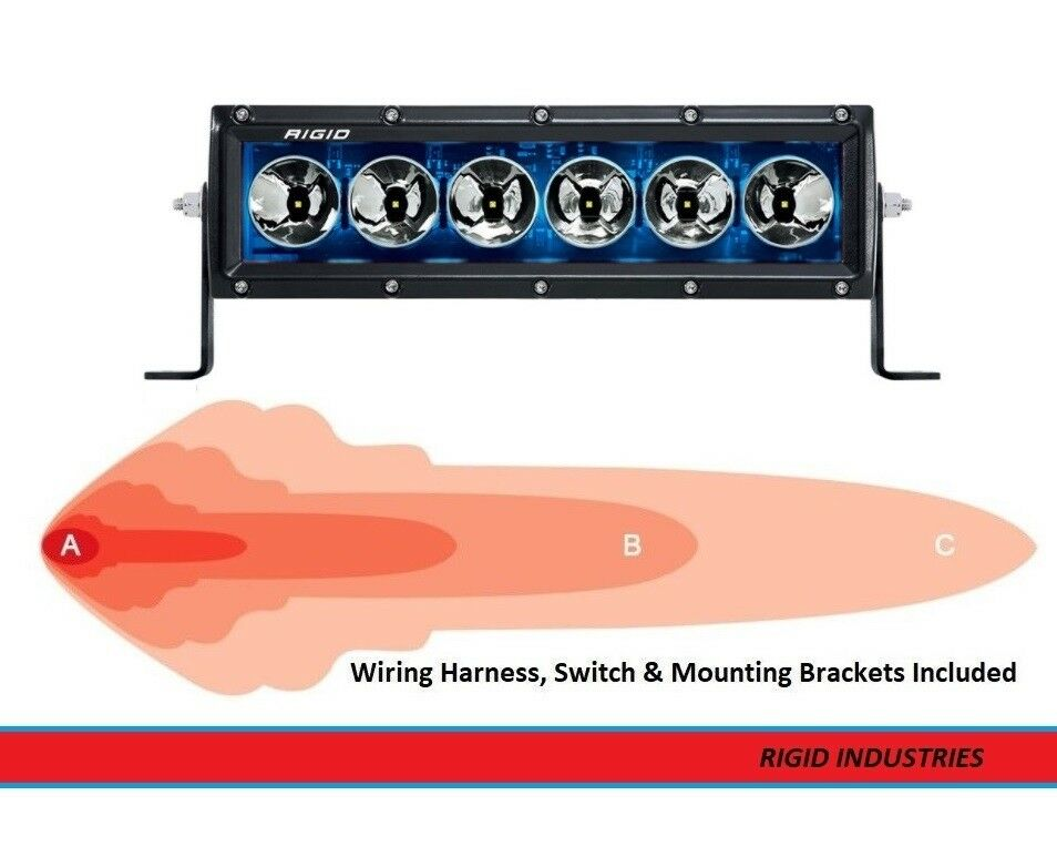 Rigid Industries Radiance+ Series Back-Light 10 Inch LED Light Bar