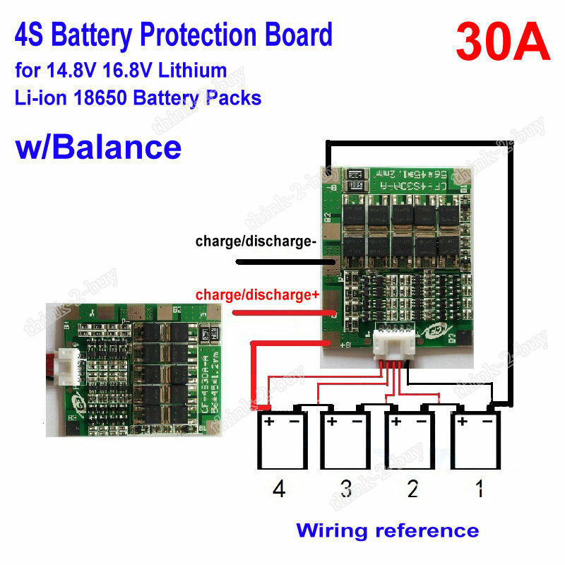 18650 battery series wiring diagram