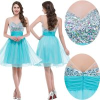 Teens Short Prom Party Dress Evening Bridesmaid Cocktail ...
