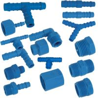 Tefen Nylon Pipe Fittings Plastic Barbed Pipe Joiner ...