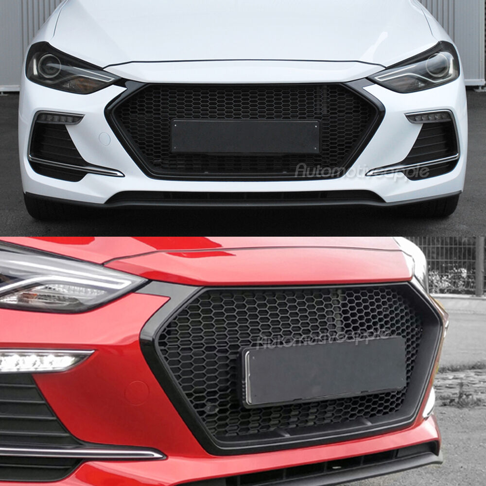 1000 Images About Toyota Truck On Pinterest Auto Electrical Wiring Bdx Honda Ruckus Diagram Front Hood Grille Unpainted For 2017 2018 Hyundai Elantra