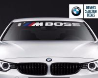 BMW Windshield I'M Boss M Performance windows sticker