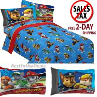 Toddler Twin Size Bed Sheets Boys Paw Patrol Rescue with ...