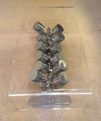 V12 Engine Exposed Internals Table - Engine Block coffee ...