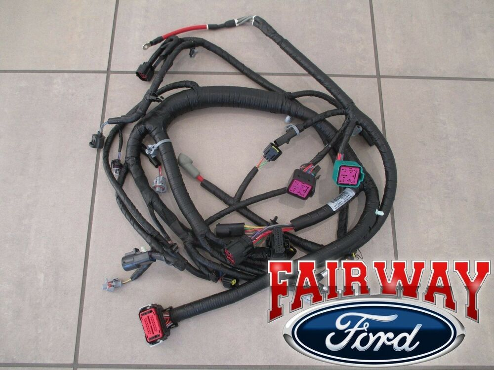 03-04 Super Duty OEM Ford Engine Wiring Harness 60L 1/30/03 thru 9