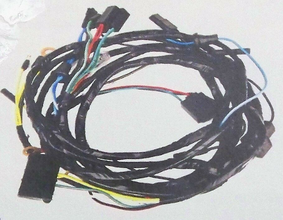 All 1966 Mustangs Headlight to Firewall Wiring Harness C6ZZ14290