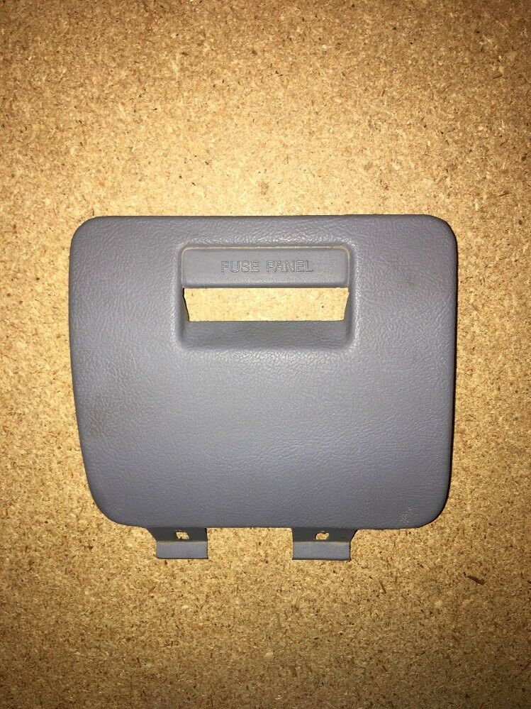 1992 - 1996 FORD F150 F 150 BRONCO FUSE PANEL COVER LIGHT GRAY 93 94