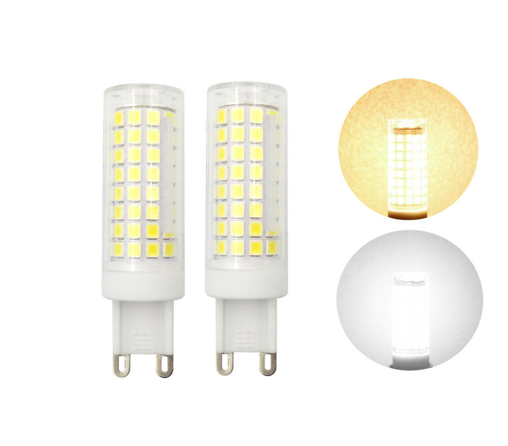Lampen G9 2pcs 10pcs G9 Led Bulb Dimmable 9w 110v 102 2835 Smd Ceramics