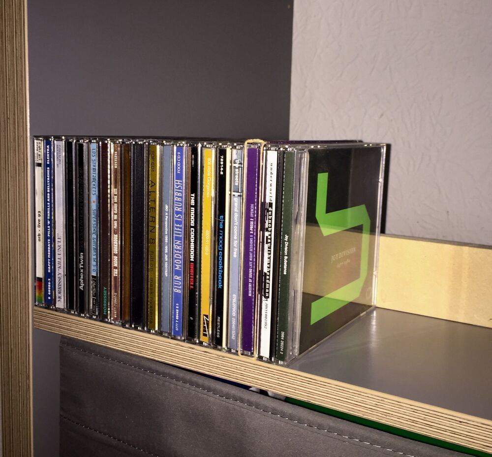 Ikea Kallax Cd Storage Shelf Stop Buffer For Cds Suitable For Ikea Kallax Expedit Shelving Music Ebay