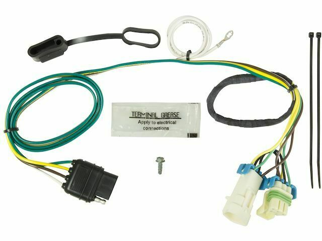 Trailer Wiring Harness For 1998-2004 Chevy S10 2000 2001 2002 1999