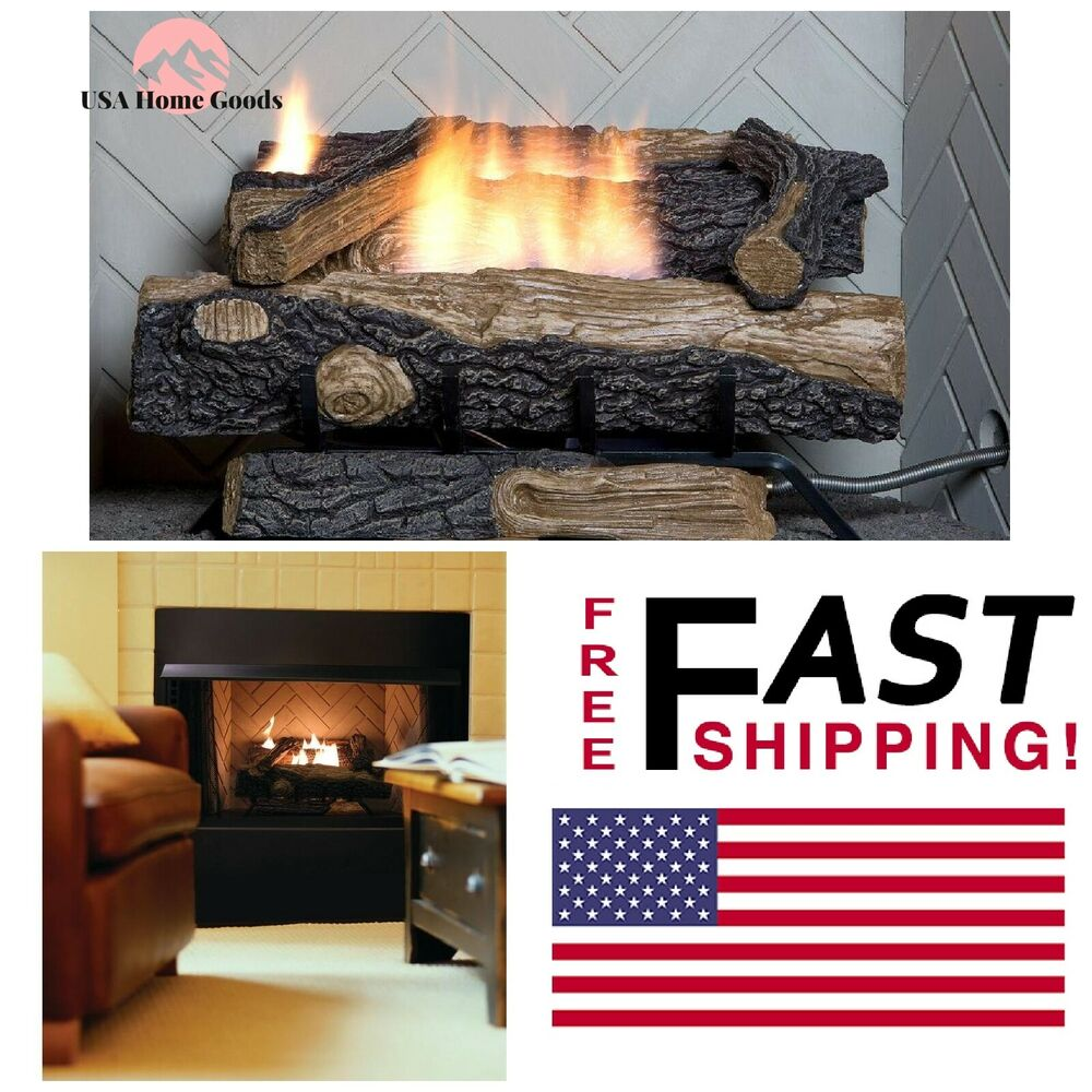 How Does A Vent Free Gas Fireplace Work Vent Free Natural Gas Fireplace Logs 24