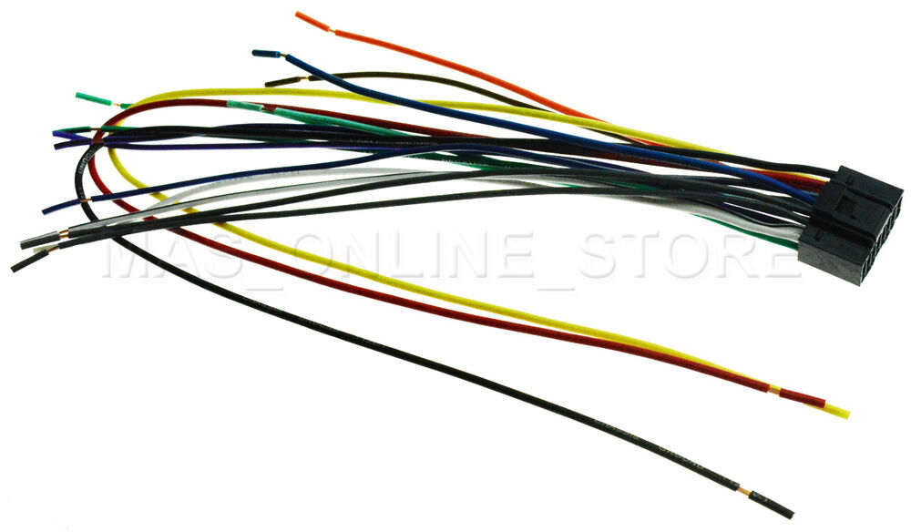 WIRE HARNESS FOR KENWOOD DDX-370 DDX370 *PAY TODAY SHIPS TODAY* eBay