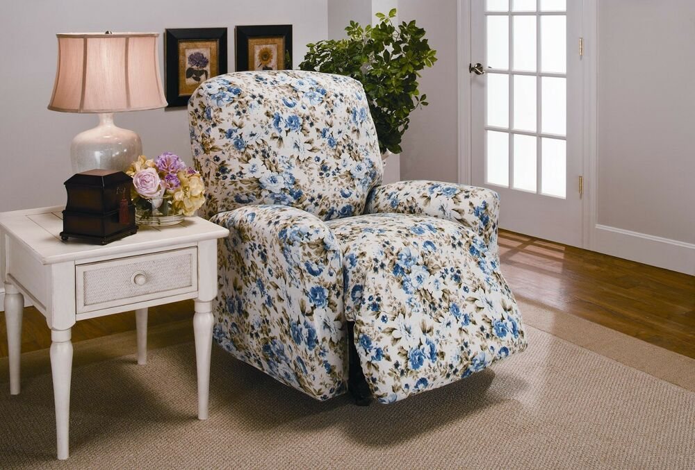 Royal Blue Couch Slipcover