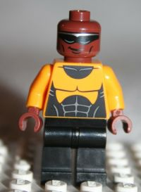 Lego POWER MAN MINIFIGURE from Super Heroes Spider ...
