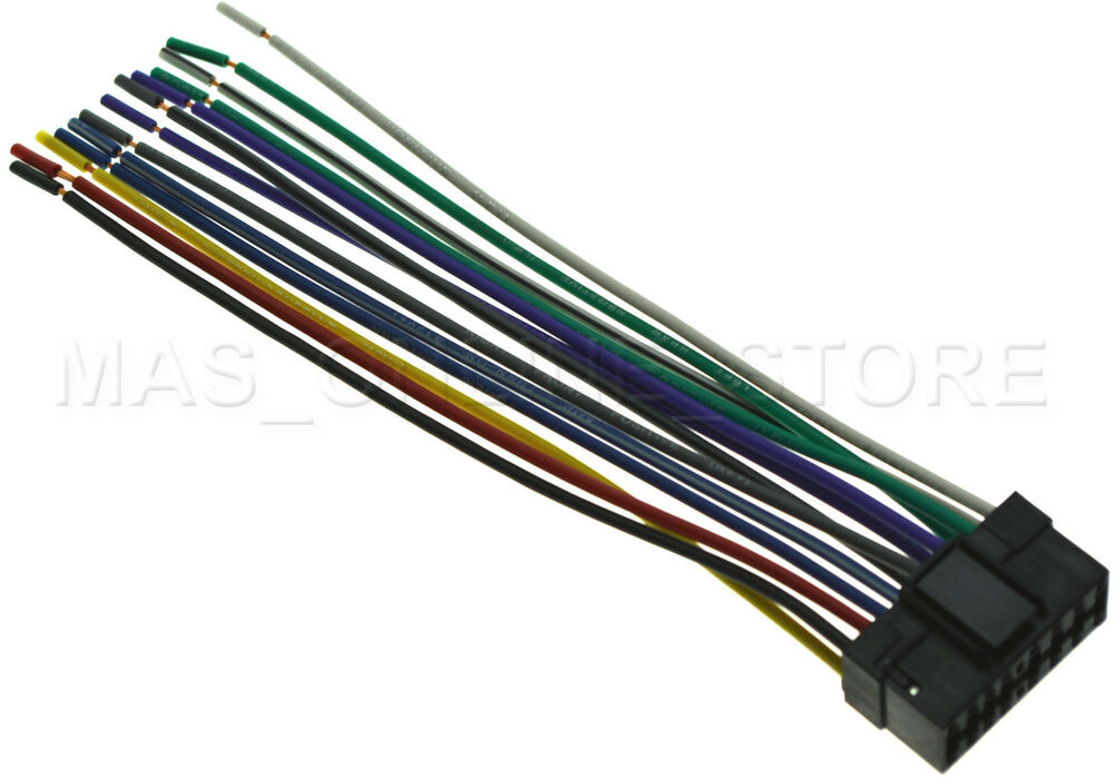 WIRE HARNESS FOR SONY CDX-GT660UP CDXGT660UP *PAY TODAY SHIPS TODAY