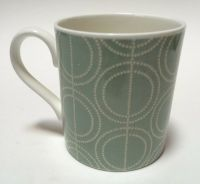 Boden Fine Bone China Coffee Mug Cup 10 Oz Green W/ Dotted ...