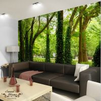3D Nature Tree Landscape Wall Paper Wall Print Decal Decor ...
