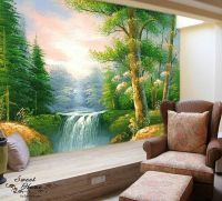 Old-growth Forest Landscape Full Wall Mural Large Wall ...