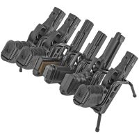 Handgun Rack 6 Gun Pistol Holder Metal Organizer For Safe ...
