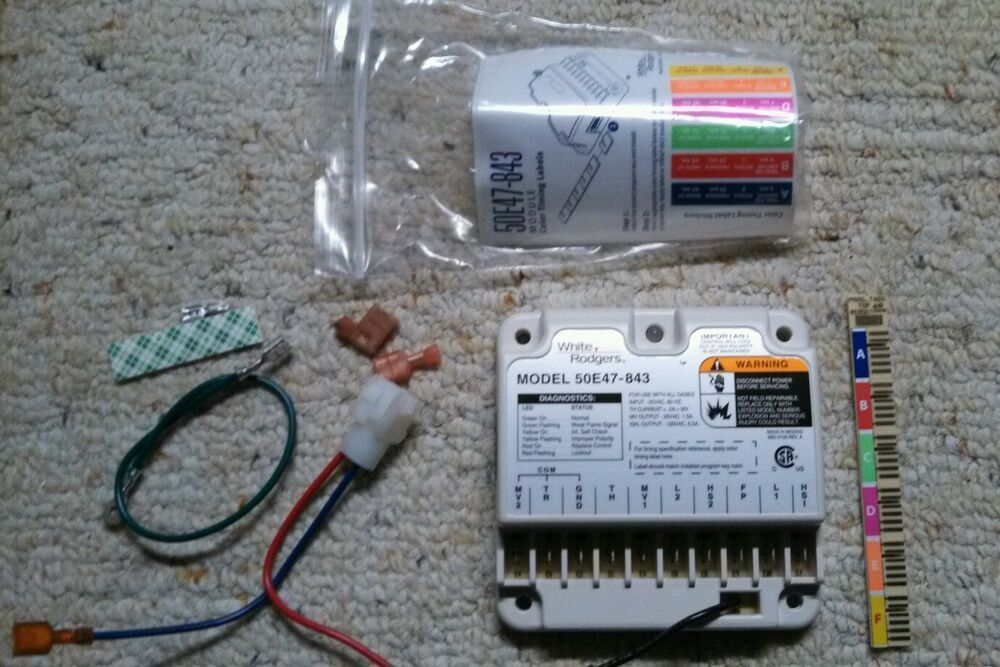 White Rodgers 50e47 843 Furnace Control Module Replacement