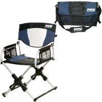 GCI Outdoor Sport Pico Folding Arm Chair Navy Blue Compact
