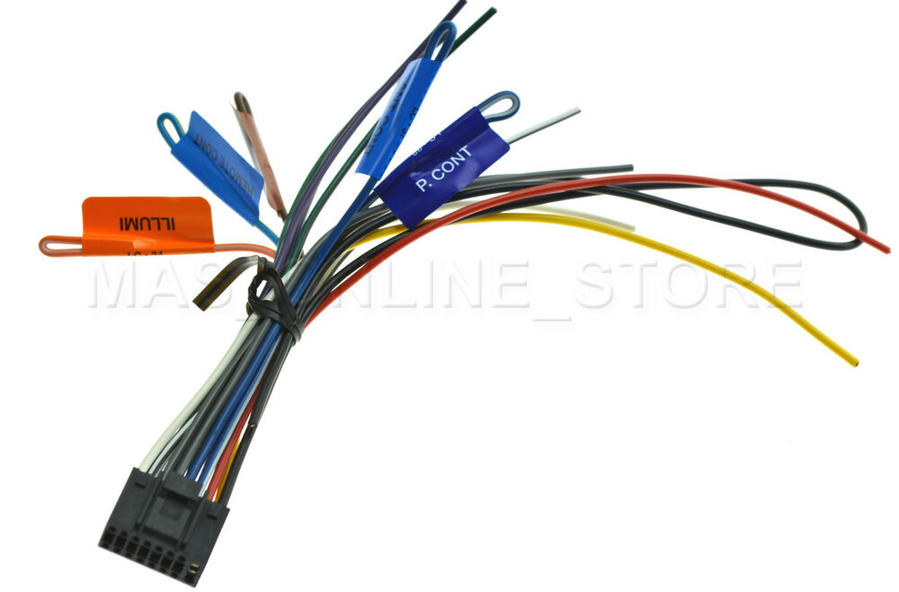 KENWOOD DDX-372BT DDX372BT GENUINE WIRE HARNESS *PAY TODAY SHIPS