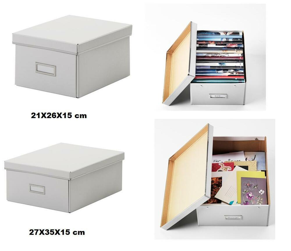 Ikea Small Storage Ikea Smarassel White Lided Storage Box- Ideal For Small