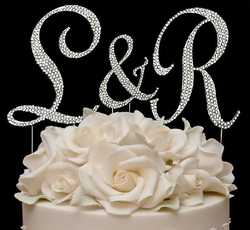 cake toppers monogram