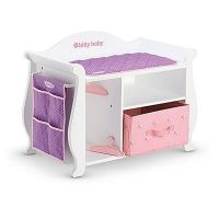American Girl BITTY BABY CHANGING TABLE & STORAGE 2015 for ...