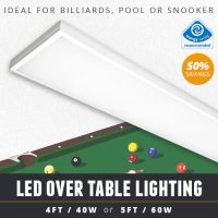 OVER TABLE LED BILLIARD / POOL TABLE LIGHT OR LED SNOOKER ...