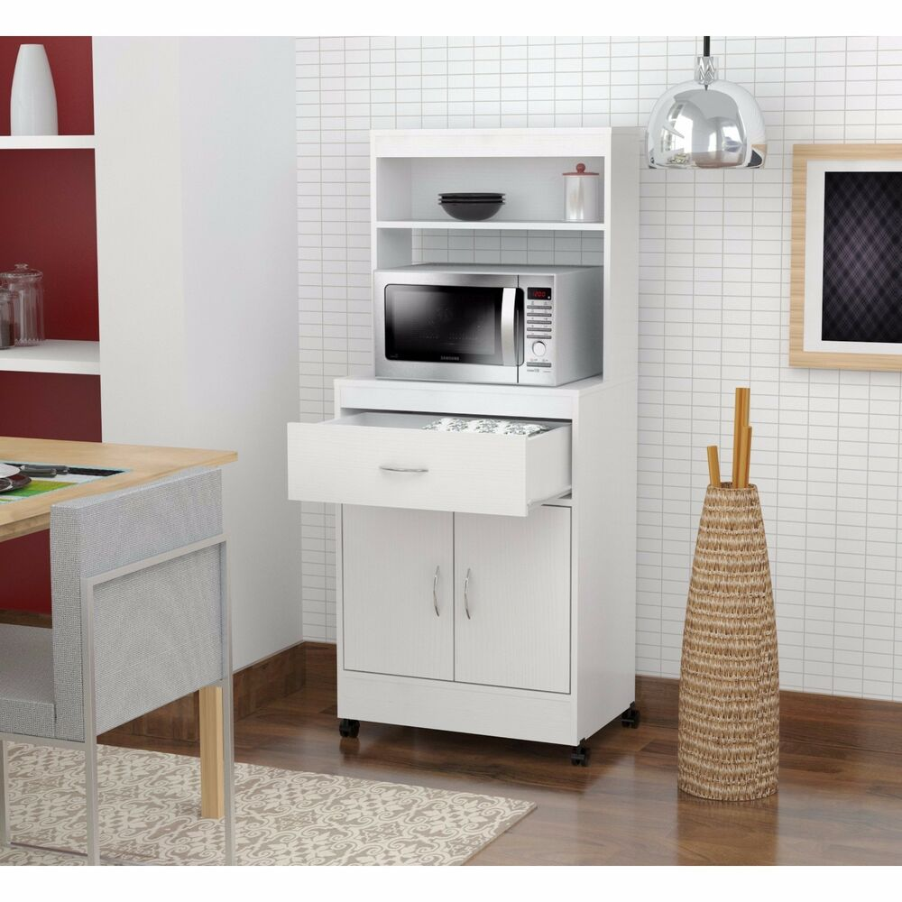 Kitchen Islands For Sale Ebay Tall Kitchen Cabinet Storage White Microwave Cart Stand
