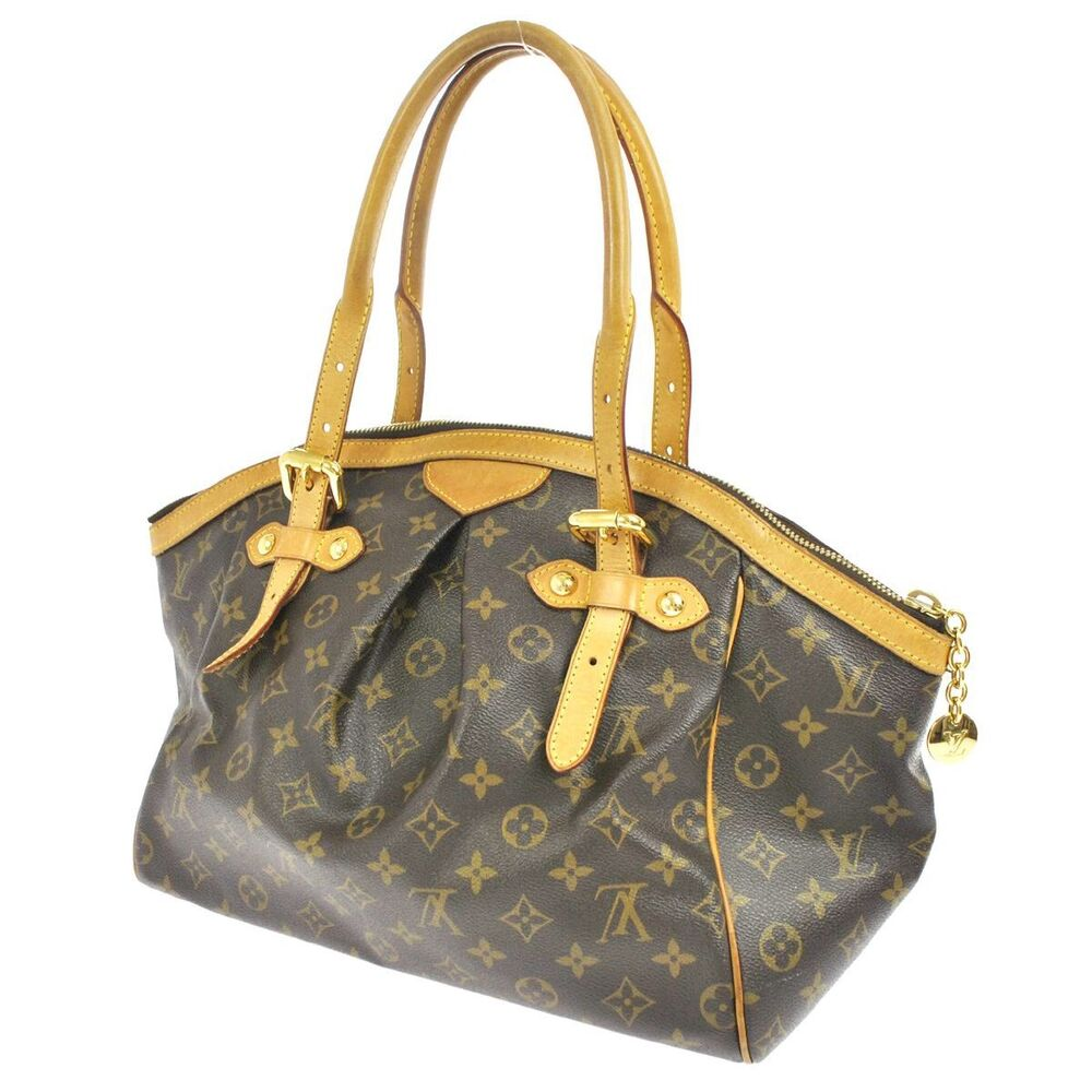 Tivoli Gm Auth Louis Vuitton Tivoli Gm Shoulder Tote Bag Monogram Purse M40144 U S Seller Ebay