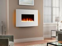 Endeavour Fires Egton White Wall Mounted Electric Fire ...