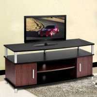 TV Stand Entertainment Media Center Console Storage Wood ...