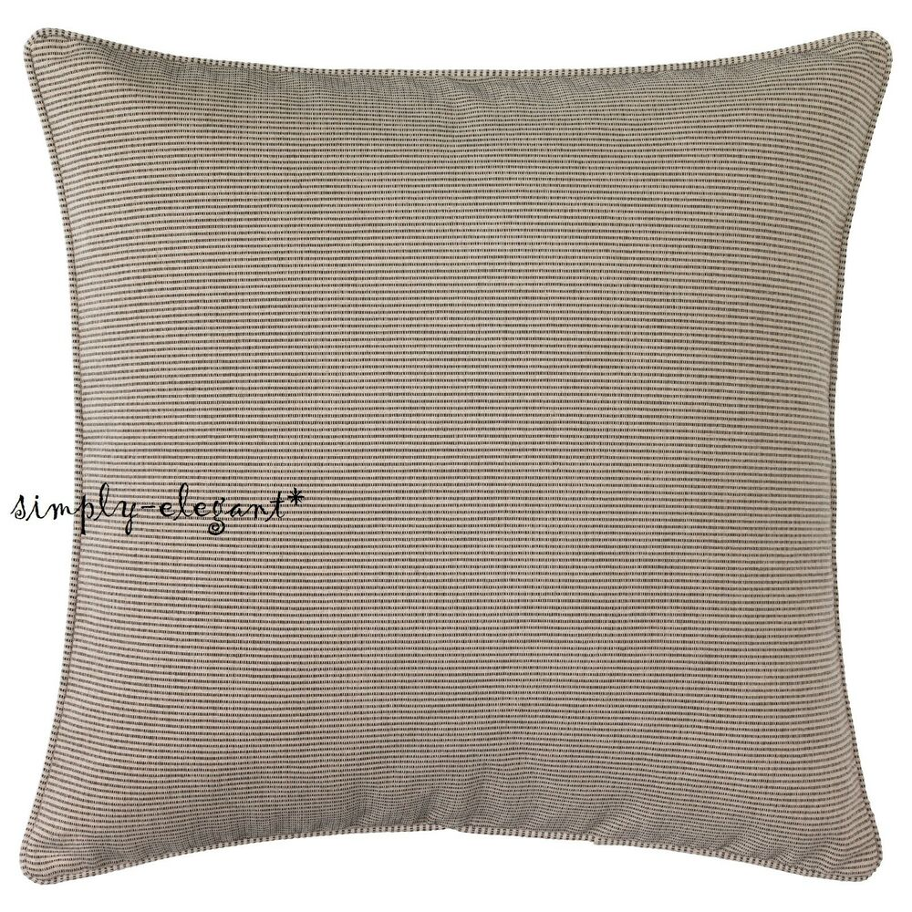 Sinnerlig Ikea Ikea Ilse Crawford Limited Collection Sinnerlig Cushion Cover Beige Black 26x26