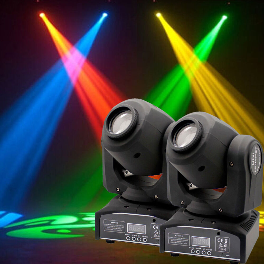 Led Stage Lighting Ebay 2pcs 60w Led Rgbw Moving Head Stage Light Dmx Club Disco