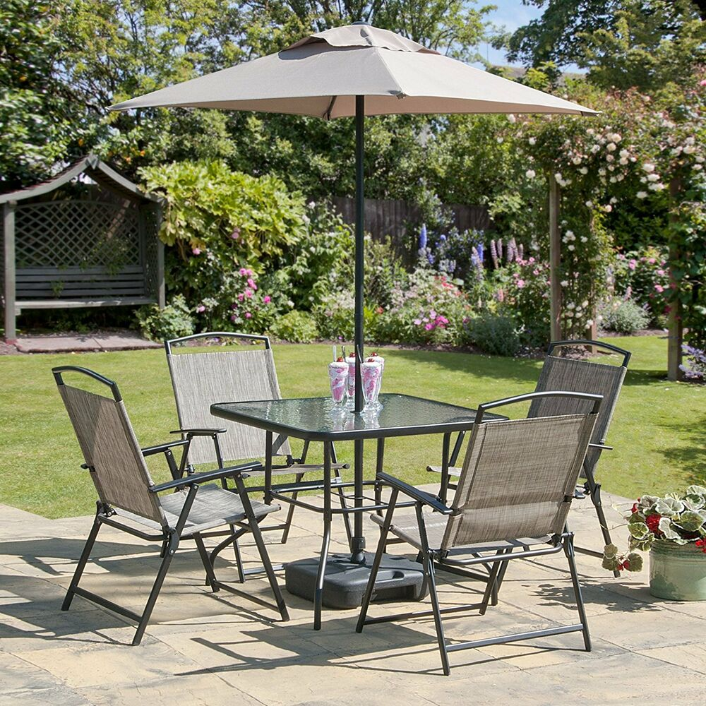 Gartentisch Mit Stühle Oasis Patio Set Outdoor Garden Furniture 7 Piece Folding